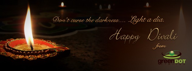 Happy Divali from Green Dot Limited