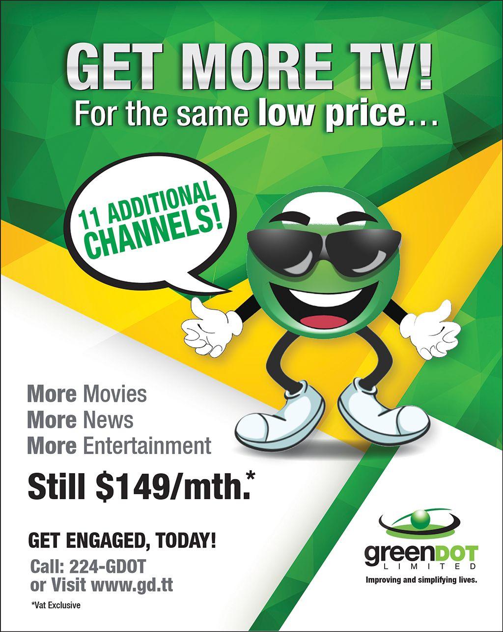 Get Engaged – Digital TV Plan « Green Dot Limited « Trinidad
