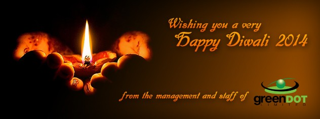 Green Dot Happy Diwali 2014